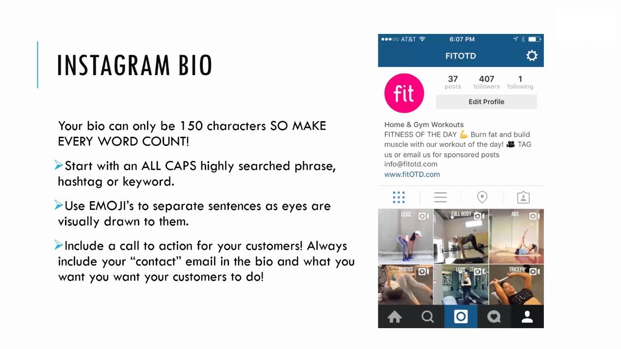 Insta Bio | BuyRealMarketing