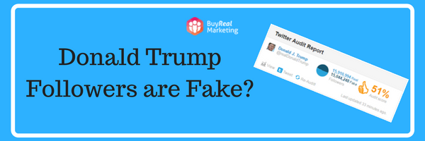 Donald Trump Fake Followers